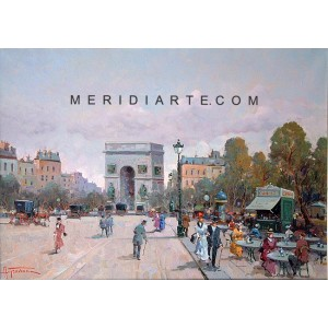 Arch of Triumph - Paris oil painting