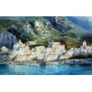 Bay of Amalfi oil paintings