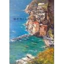 Conca dei Marini - Coast oil paintings