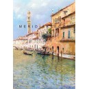 Venice oil paintings - Grand Canal in Venice