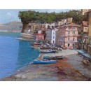 Marine of Sorrento - Marine oil paintings - Seascape of Sorrento