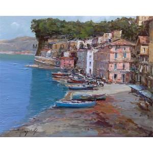 Marine of Sorrento - Seascape oil paintings