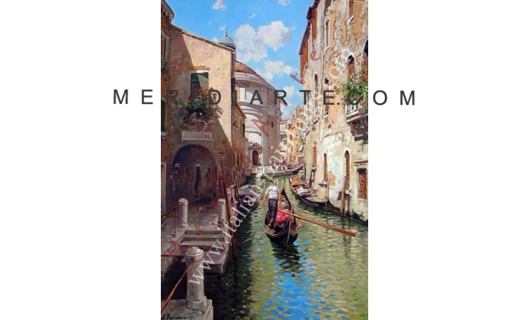 "<h2>Canale in Venice   </h2> <p>Canal, Venice oil painting on canvas by italian artist Armando Romano. </p>  <a href=""/oil-paintings/cityscape-oil-paintings/canal-in-venice2""></a>"