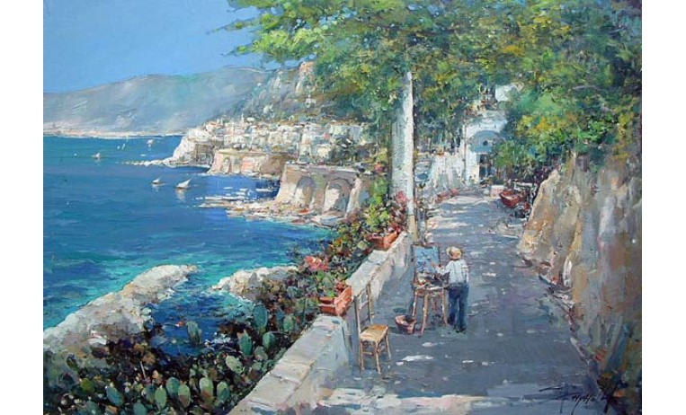 "<h2>Amalfi coastline </h2> <p> Amalfi, coast oil paintings by italian painter Ciro Canzanella. </p>  <a href="" /oil-paintings/coast-oil-paintings/amalfi-dipingere-dal-vero ""></a>"