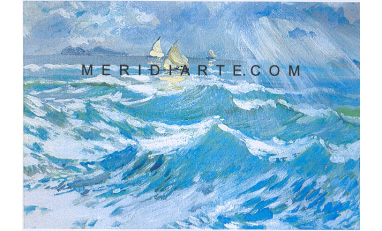 """<h2>After  the storm</h2> <p> After the storm, seascape oil paintings by italian painter Wilken's Hans   Desiderio. </p>  <a href=""""/contemporary-art/Espressionism/After-the-storm""""></a>"""