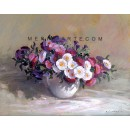 Flowers oil painting
