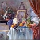 Art Studio - Still Life oil painting