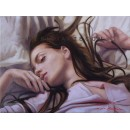 Repose- Figure oil paintings