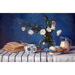 Breakfast - Still Life oil painting