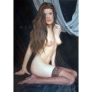 Nude oil painting - Nude