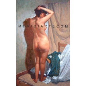 Nude oil painting - Giovanni Parlato
