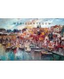 Seascape oil paintings - Marine of Ischia