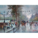 Lungo la Senna - Paris oil painting