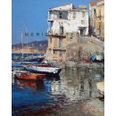 Seascape oil paintings - La Lobra - Massa Lubrense