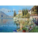 Lake Como - Landscape oil painting