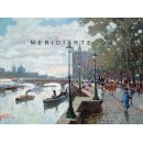 Promenade on the Thames - London oil painting