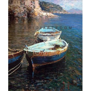 Marine of Naples - Seascape oil paintings