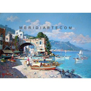 Marine of Caprii oil painting