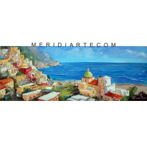 Positano Coast oil paintings