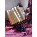 Red Wine - Still Life oil painting