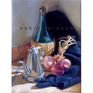 Onions - Still Life oil painting