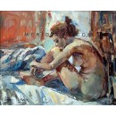 Remember - Contemporary Figurative oil painting
