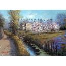 Landscape oil paintings - Tuscany landscape