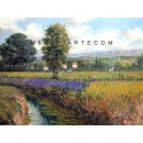 Countryside Landscape oil paintings