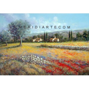 Tuscany landscape oil paintings