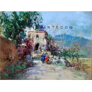 Country House - Landscape painting