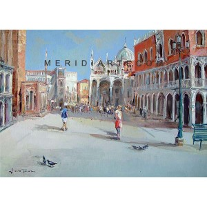 San Marco square - Venice oil paintings