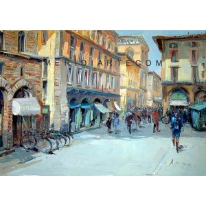 Signoria Square - Florence oil paintings