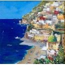 Positano - Coast oil paintings