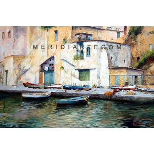 Procida - Marine oil paintings
