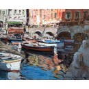 Reflections - Marine oil painting