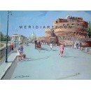 Castel Sant'Angelo - Rome oil painting