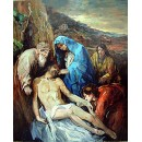 Deposition - Christ oil painting