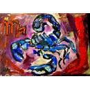 Scorpio - Expressionism Figurative - Luna Hal
