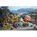 Still Life oil painting - landscape of Sorrento
