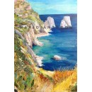 Farglioni - Capri oil paintings