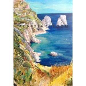 Farglioni - Capri oil paintings
