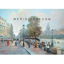 The Seine - Paris oil painting