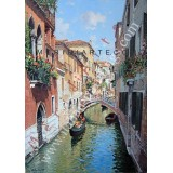 Canal In Venice oil painting
