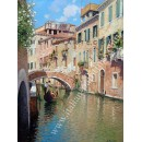 Venice oil painting - Morning in Venice