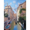 Van Axel Palace - Venice oil painting