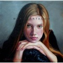 Face - Figure oil paintings
